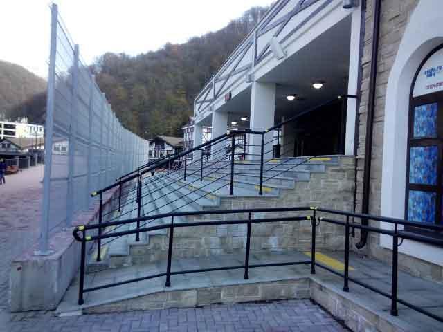 Ограждения Грандфенс на олимпийских объектах